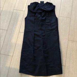 Lanvin dress, silk, navy size 0
